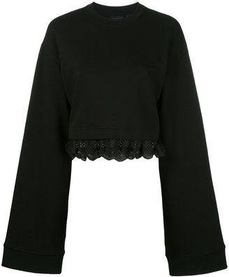 Fenty X Puma cropped sweatshirt