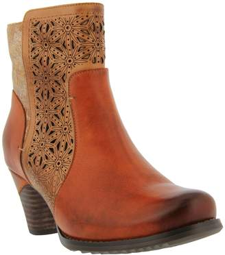 Spring Step L'Artiste by Leather/Textile Booties - Belle