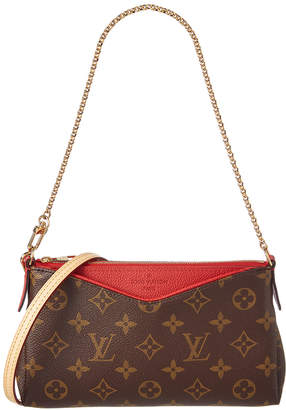 Louis Vuitton Cherry Monogram Canvas Pallas Clutch