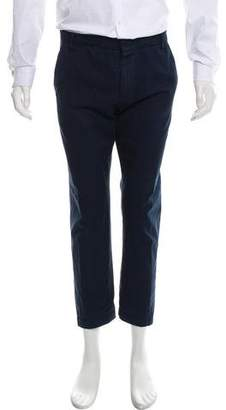 Band Of Outsiders Cropped Flat Front Pants