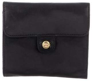 DKNY Leather Bi-Fold Wallet