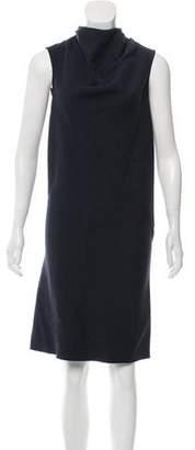Rick Owens Wool Sleeveless Dress