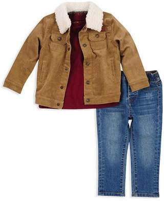 7 For All Mankind Boys' Corduroy Jacket, Tee & Jeans Set - Little Kid