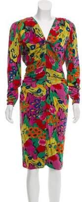Ungaro Paris Vintage Midi Dress