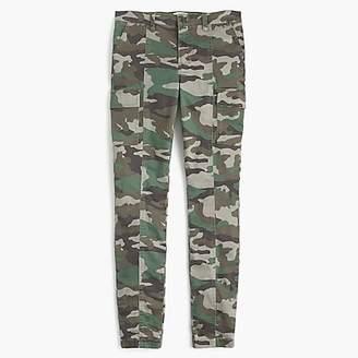 """J.Crew 9"""" Cargo Toothpick Pant In Camo Print"""