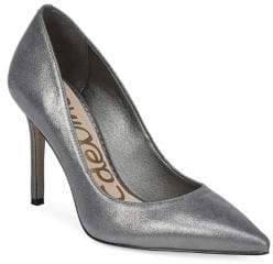 Sam Edelman Hazel Metallic Leather Pumps