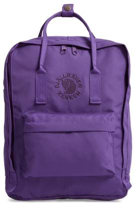 Fjallraven Re-Kanken Water Resistant Backpack