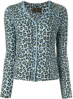 Fendi Pre-Owned leopard print cardigan