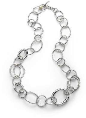 Ippolita Glamazon Sterling Silver Bastile Element Short Link Chain Necklace