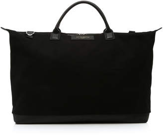 WANT Les Essentiels Hartsfield Large Leather-Trimmed Canvas Tote