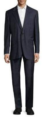 Two-Button Wool-Blend Suit