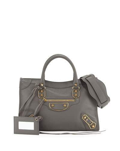 Balenciaga  Balenciaga Edge City Classic Small Tote Bag, Neutral