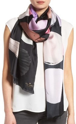 Women's Kate Spade New York Makeup Palette Silk Scarf $118 thestylecure.com