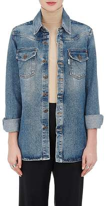 Off-White Women's Western-Style Denim Blouse