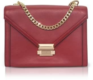 Michael Kors Whitney Large Leather Convertible Shoulder Bag
