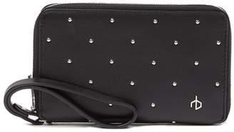 Rag & Bone Studded Leather Phone Wallet
