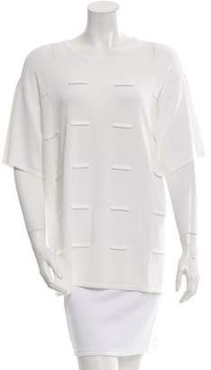 Opening Ceremony Fence Short Sleeve Boxy Top w/ Tags
