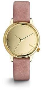 Komono Estelle Mirror Gold Blush Watch