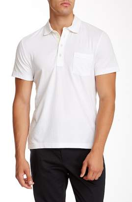 Billy Reid Topstitched Polo