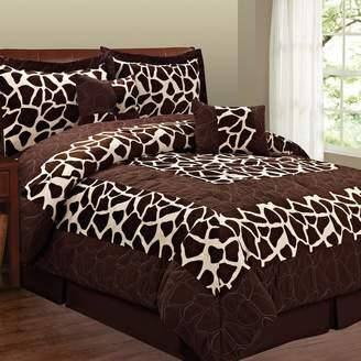 Giraffe 6-pc. Microsuede Comforter Set