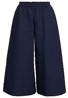 Gucci Women's Quilted Elastic Wide-Leg Culottes