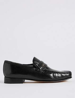 Marks and Spencer Leather Trim Loafers