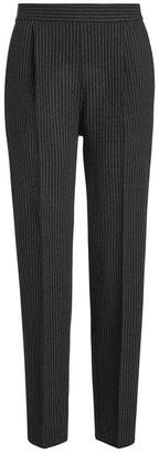 Moschino Pinstriped Virgin Wool Pants