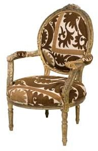 Vintage Gilt Chair