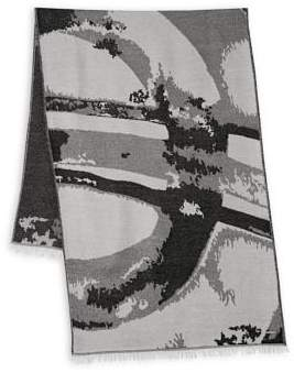 Collection 18 Abstract Print Scarf