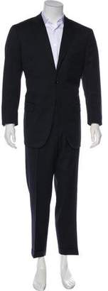 Isaia Aquaspider Wool Suit
