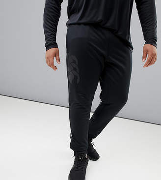 Canterbury of New Zealand Plus Vapodri Tapered Stretch Pants In Black Exclusive To ASOS