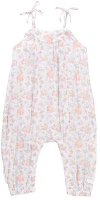 7 For All Mankind Tie Romper (Baby Girls)