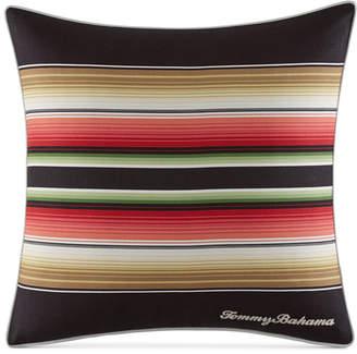 "Tommy Bahama Home Jungle Drive Stripe 18"" Square Decorative Pillow"