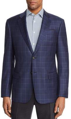 Emporio Armani Large Check Regular Fit Sport Coat