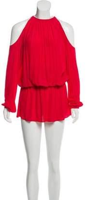 Ramy Brook Cold-Shoulder Knee-Length Dress w/ Tags