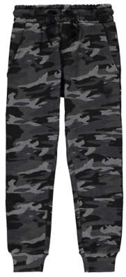 George Camouflage Jersey Joggers