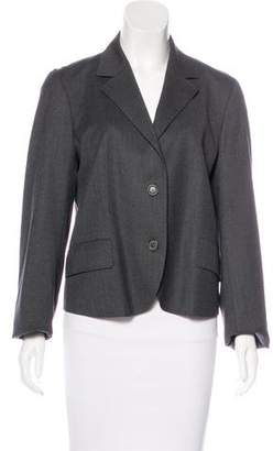 Nicole Farhi Notch-Lapel Wool Blazer