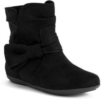 SONOMA Goods for LifeTM Girls' Bow Slouch Boots $49.99 thestylecure.com