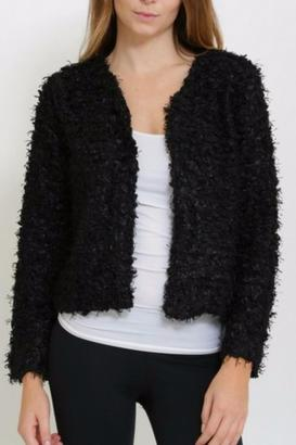 Nazz Collection Fuzzy Boucle Jacket $44 thestylecure.com