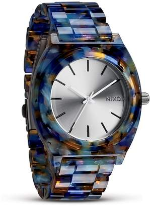 Nixon Women's The Time Teller Acetate Watch, 40mm