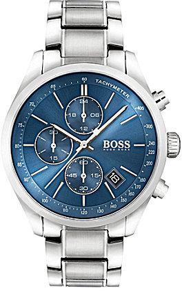 Hugo BossBOSS Hugo Boss Grand Prix Chronograph & Date Stainless Steel Bracelet Watch