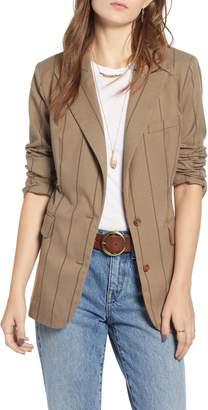 Treasure & Bond Stripe Menswear Blazer