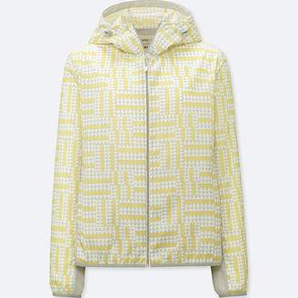 Uniqlo Women's Sprz Ny Pocketable Parka (francois Morellet)