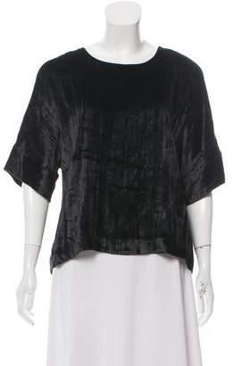 J Brand Short Sleeve Knit Top