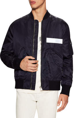 MSGM Woven Jacket With Sleeve Pocket