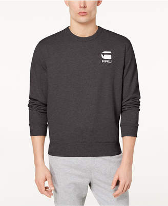 G Star Men's Doax Logo-Print Sweater