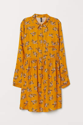 H&M Viscose Dress - Yellow