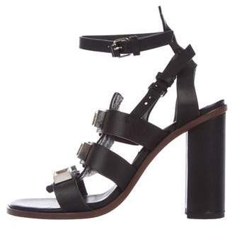 f626afdc37ac9 Pre-Owned at TheRealReal · Proenza Schouler Leather Ankle-Strap Sandals