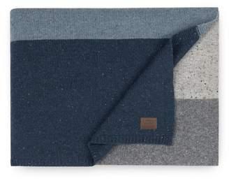 "UGG Wool Blend Jumper Stripe Throw - Fawn - 50\""x70\"""