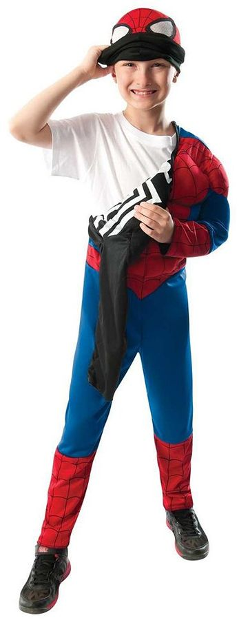 Ultimate Spider-Man Reversible Costume - Kids